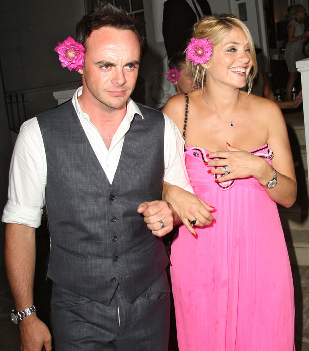 Holly Willoughby and Ant McPartlin at ITV summer party, 17 July 2013