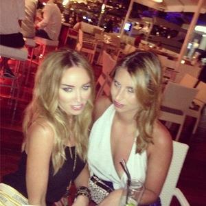 TOWIE's Ferne McCann, Lauren Pope in Ibiza - 25 July 2013