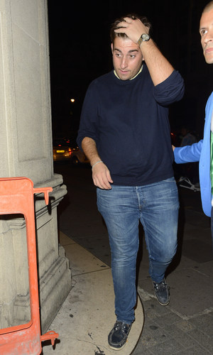 James ' Arg' Argent - Mahiki for Jay McGuiness from the Wanted 23rd birthday - 24 July 2013