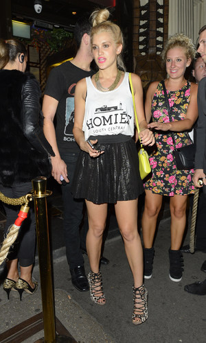 Ashley Roberts - Mahiki for Jay McGuiness from the Wanted 23rd birthday - 24 July 2013