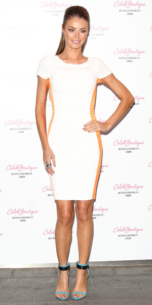 Chloe Sims CelebBoutique store launch party held at Westfield Stratford - Arrivals
