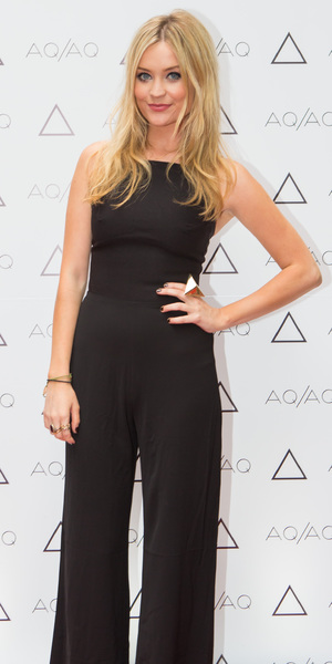 Laura Whitmore at the AQ/AQ party in Carnaby Street, Soho - 23 July