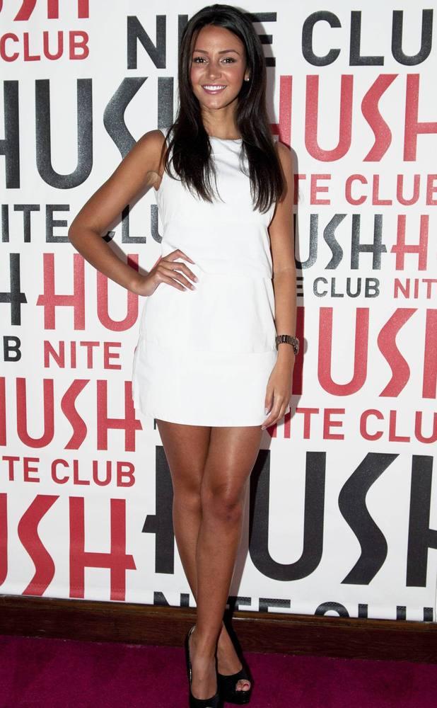 Michelle Keegan makes an appearance at Hush nightclub, July 27 2013