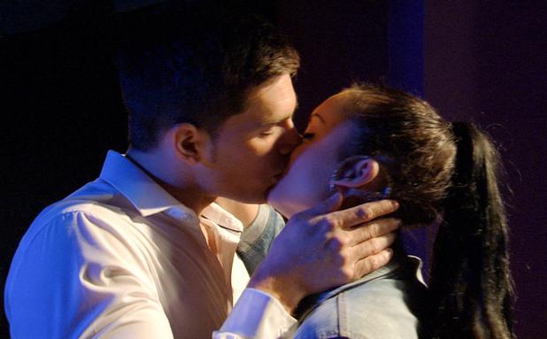 EastEnders, Joey and Whitney kiss, Mon 29 Jul