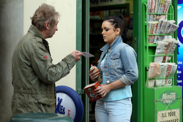 EastEnders, Whitney gets a letter from Tony, Thu 25 Jul