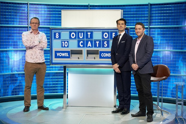 8 out of 10 cats does countdown, new series, Fri 26 Jul