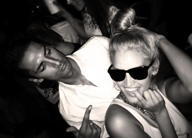 Hugo Taylor and Ashley Roberts party in London - 24 July 2013