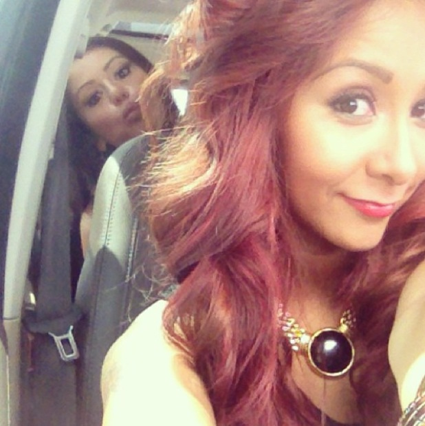 JWoww and Snooki go on a road trip - 24 July 2013