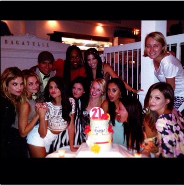 Selena Gomez celebrates 21st birthday in LA - 22 July 2013