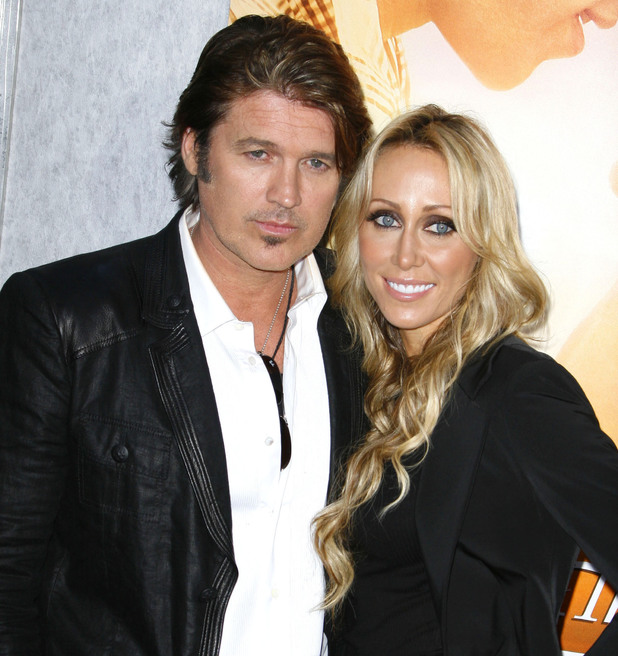 Billy Ray Cyrus and Tish Cyrus - Los Angeles Premiere of 'The Last Song' 25.03.10