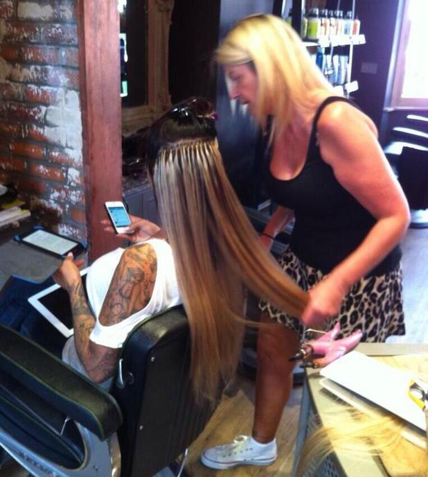 Jodie Marsh Hair Extensions 113