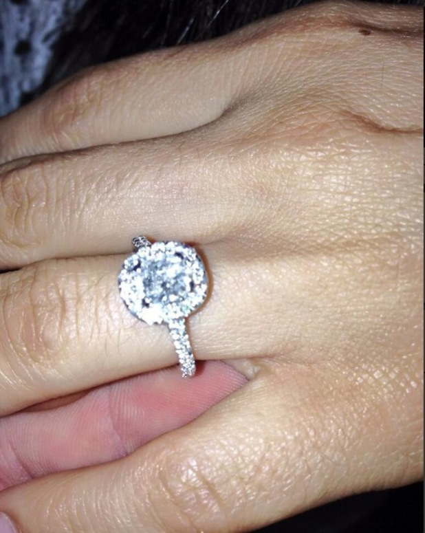 Cami Li shows off engagement ring from Kirk Norcross - 23 July 2013