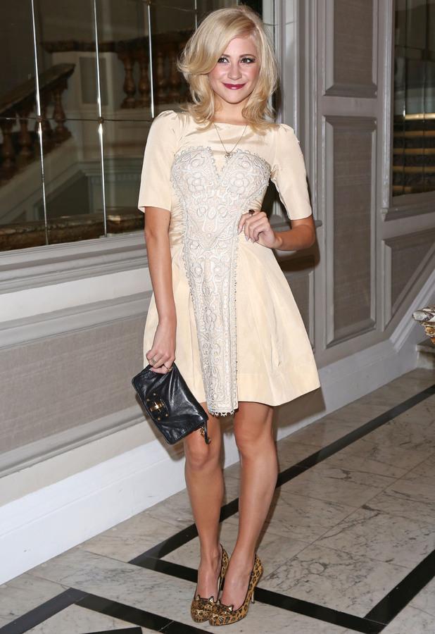 Pixie Lott London Fashion Week Spring/Summer 2013 - Temperley London - Arrivals London, England - 16.09.12