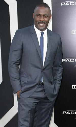 Idris Elba at Pacific Rim premiere in Los Angeles, 2013