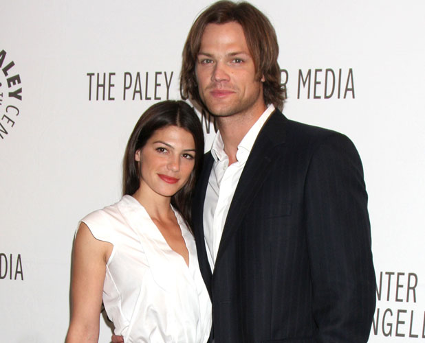 "Genevieve Cortese, Jared Padalecki at the ""Supernatural"" PaleyFest 2011held at the Saban Theatre - Arrivals Beverly Hills, California - 13.03.11"