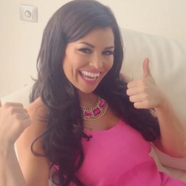 TOWIE's Jessica Wright filming new music video, Come With Me