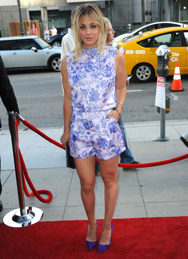 Kaley Cuoco, Los Angeles premiere of 'Blue Jasmine' - Arrivals, 24 July 2013