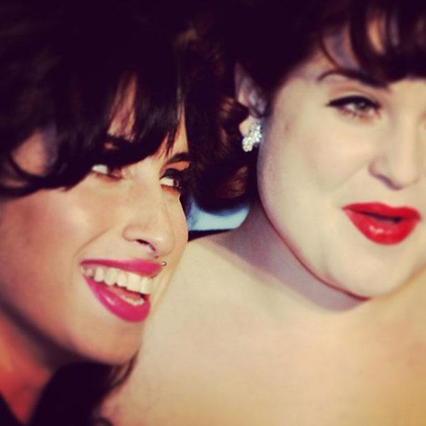 Kelly Osbourne pays tribute to Amy Winehouse, 23 July 2013