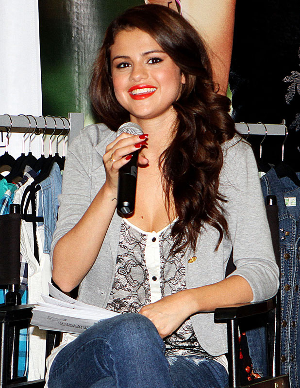 Selena Gomez promotes her clothing line 'Dream Out Loud', New York, America - 24 Jul 2013