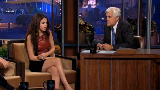 Selena Gomez on The Tonight Show, 23 July 2013