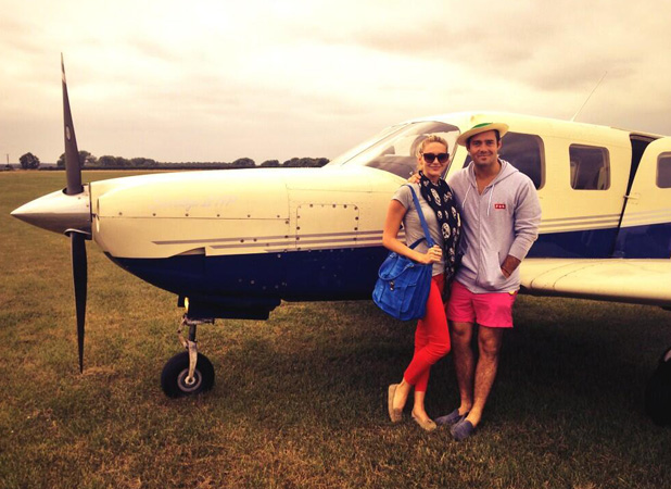 Made In Chelsea star Spencer Matthews with The Hills star Stephanie Pratt