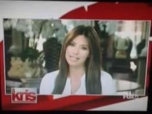 Kim Kardashian appears on Kris Jenner's TV show following birth of daughter North - 2 August 2013