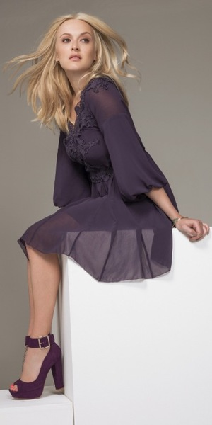 Fearne Cotton models her new clothing collection for Very.co.uk