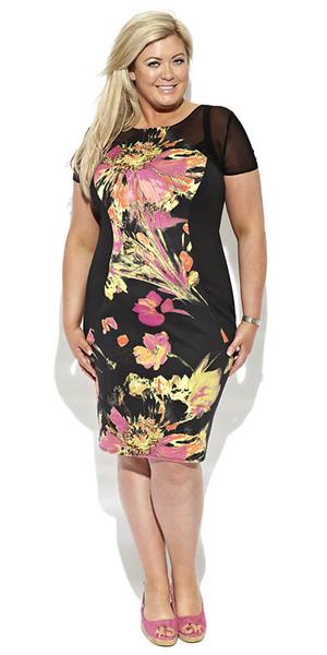 Gemma Collins collection floral dress