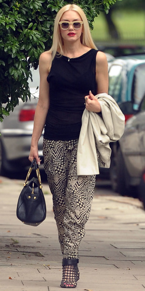 Gwen Stefani out and about in North London
