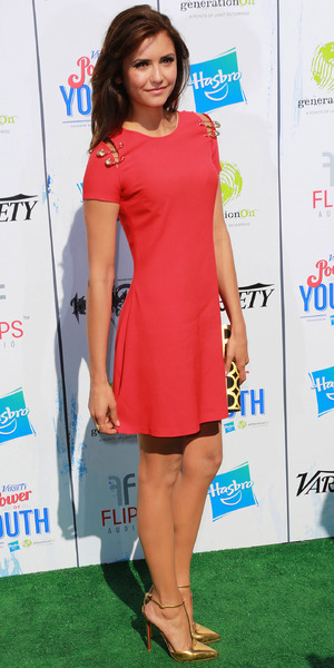 Nina Dobrev Variety's '7th Annual Power of Youth' event presented by Hasbro Inc. and GenerationOn - Arrivals