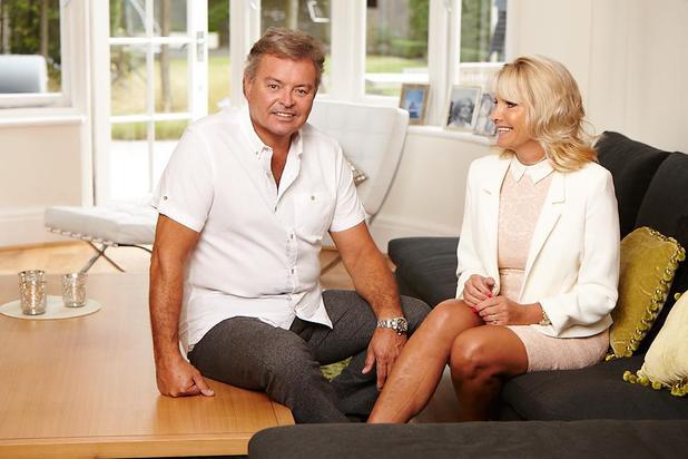 Mark Snr and Carol Wright photo shoot.  A Reveal Exclusive.