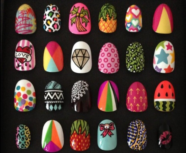 The Illustrated Nail - Sophie Harris-Greenslade