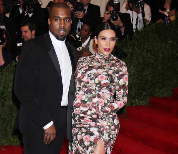 Kanye West, Kim Kardashian attend Met Ball in May 2013