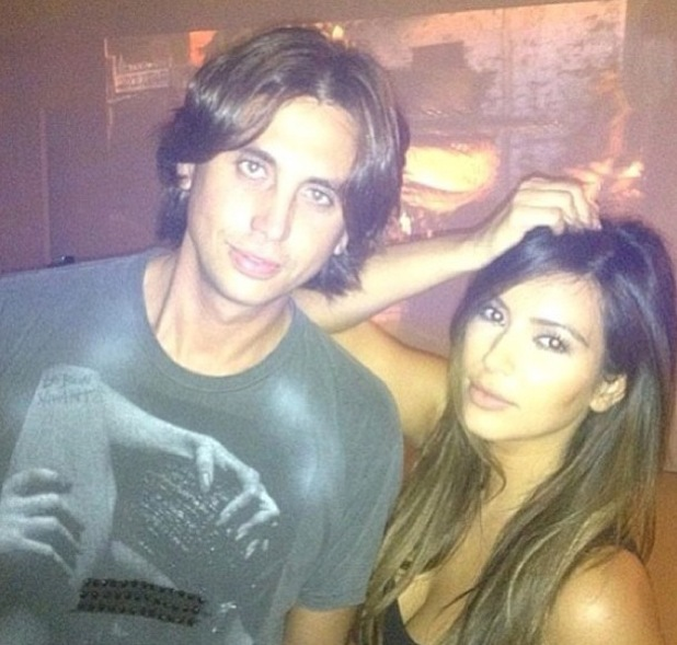 Jonathan Cheban and Kim Kardashain pictured in 2012