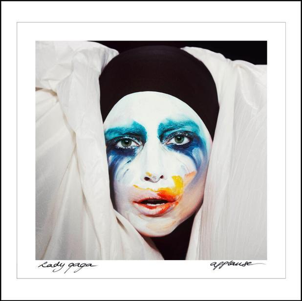 Lady Gaga artwork for single Applause - 29 July 2013