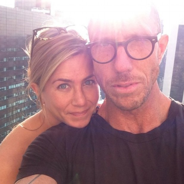Jennifer Aniston shows off natural beauty in make-up free photo, August 3 2013