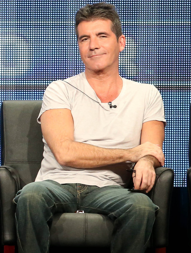 Simon Cowell at Television Critics Association press conference, LA, 1 August 2013