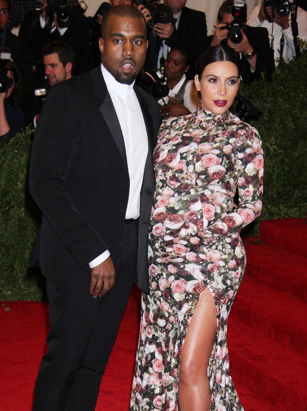 Kanye West, Kim Kardashian attend Met Ball in May 2013