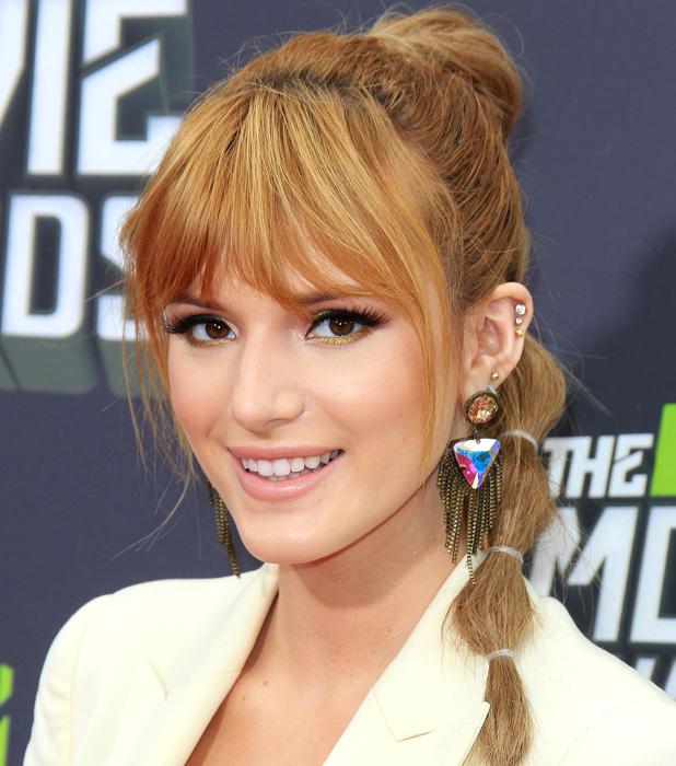 Bella Thorne at MTV Movie Awards on 14 April 2013