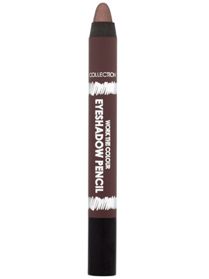 Collection Work The Colour Eyeshadow Pencil in Hot Chocolate, £3.19