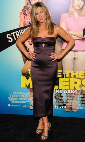 "Jennifer Aniston, We're The Millers"" World Premiere at The Ziegfeld Theater, 1 August 2013"
