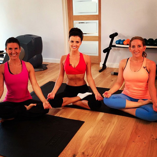 Lucy Mecklenburgh announces yoga addition to Results With Lucy