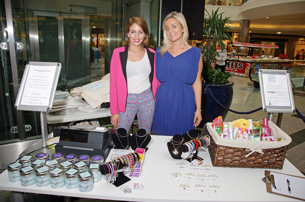 Bella Sorella pop-up store, Southampton, Britain - 01 Aug 2013 Lydia Bright