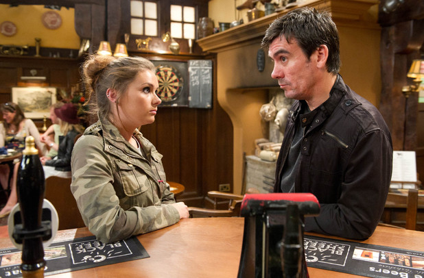 Emmerdale, Amy tells Cain about Kyle, Fri 9 Aug