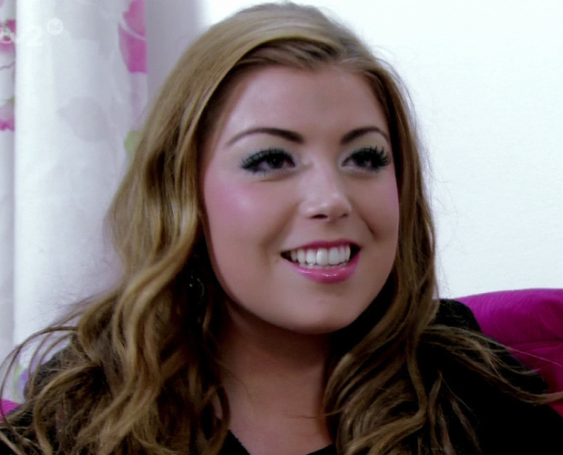 Abi Clark on TOWIE. ITV2 03/25/2013