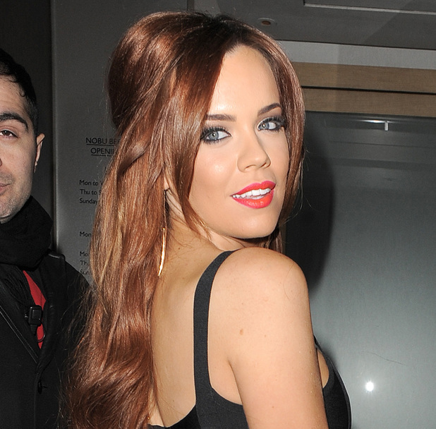 Maria Fowler enjoys a night out in Mayfair, 29 March 2013