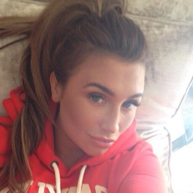 Lauren Goodger posts Instagram selfie untouched