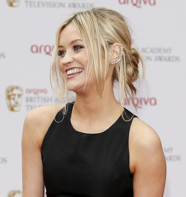 Laura Whitmore, The Arqiva British Academy Television Awards held at the Royal Festival Hall - Arrivals, 12 May 2013