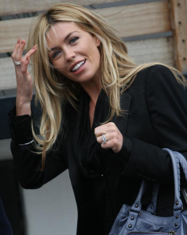 Abbey Clancy outside ITV studios - 4 March 2013
