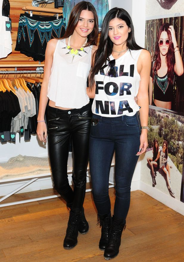 Kendall Jenner and Kylie Jenner collection at PacSun Pop Up Shop, New York, America - 06 Aug 2013